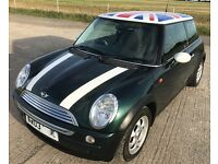MINI COOPER 1.6 2003 (03) FULL HISTORY-Only 2 owners - low mileage - new exhaust