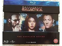 Battlestar Galactica - The Complete Series - Bluray - Immaculate Condition