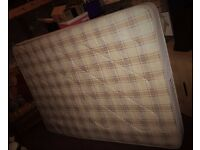 Double Bed Mattress - offered for free, but must be able to collect