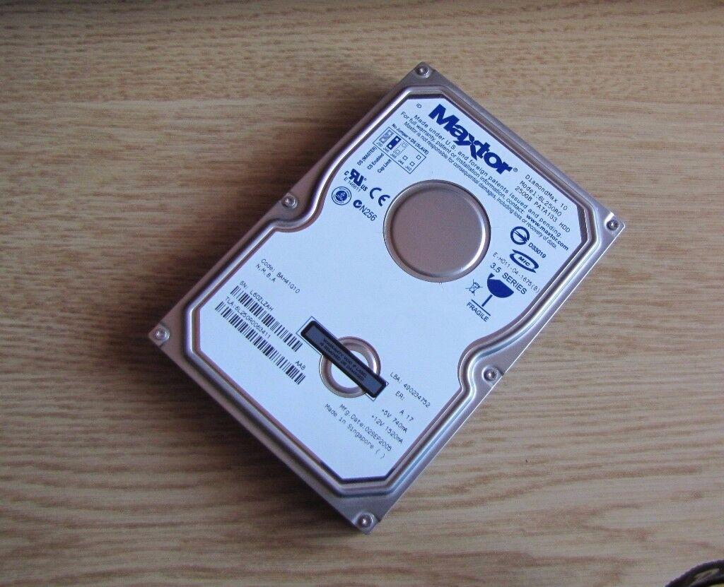 Maxtor Diamondmax Hard Drive – 250GB