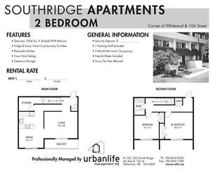 2 Bedroom –Over $2500 in Move In Incentives Available. Edmonton Edmonton Area image 3