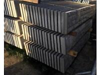 🍭Rock Face Concrete Fencing Base Panels