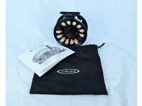 Salmon Fly Reel, Vision Deep #9/10 with line.