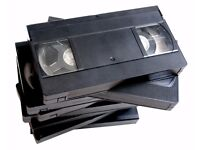 Wanted free vhs video tapes