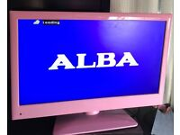 Pink Alba tv/dvd combi 22inch