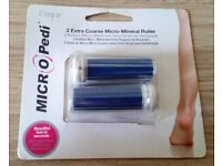 Emjoi Micro Pedi 2 Extra coarse Micro-mineral roller Brand New in sealed Packaging.