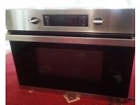 BAUMATIC BMC450SS Built-in Combination Microwave - For Spares and Repairs