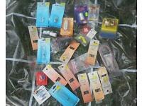 Job lot electrical components, unused, resistors, capacitors, etc