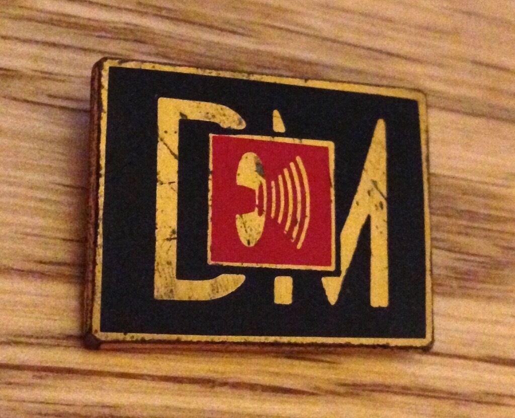 Depeche Mode Music For The Masses Tour Badge Pin 1987