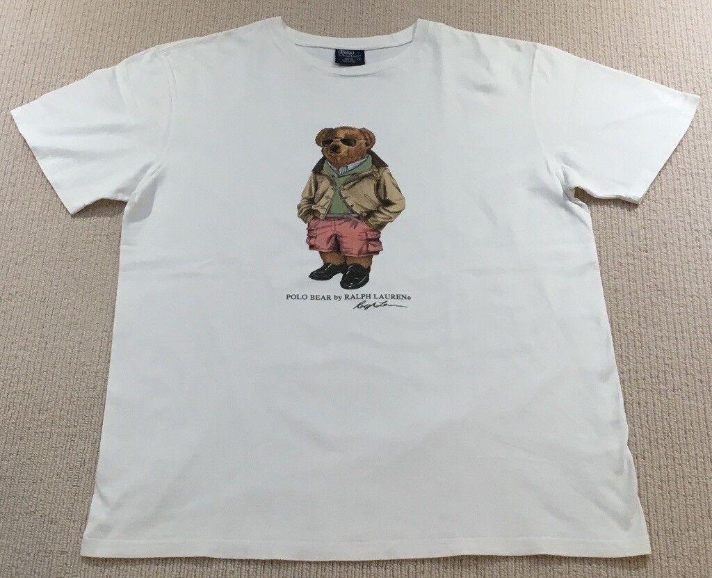 4f56e208 Ralph Lauren Polo Bear T Shirt (Not Kanye, Boost, Yeezy, Supreme, Y3, BAPE,  Palace, Gosha, Patta)
