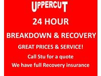 RECOVERY & BREAKDOWN, TOWING SERVICE, SCRAP & NON RUNNERS,JUMPSTART,ROADSIDE TYRE CHANGE,CALL OR TXT