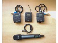 Sennheiser EW 100 G3 Wireless Kit (CH70) + 1 Extra receiver & E 835 Wireless microphone