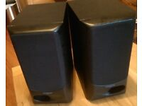 Kenwood Home Audio Speakers 60W - Used - Working - Ideal for Mens Shed, Garage Use.