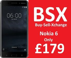 Nokia 6 5.5 3GB Ram / 32GB / Was £219 Now Only £179 / Same as Samsung Note 8 / BSX Door Buster Deal