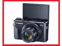 NEW CANON POWERSHOT G7 X MARK II 20.2MP WIFI DIGITAL CAMERA 4GB SD CARD INCLUDED