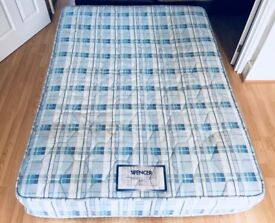 ** DOUBLE MATTRESS FOR SALE ** (Optional bed frame for £15 extra)