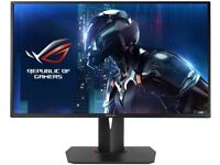 ASUS ROG Swift PG278Q 27 inch Gaming Monitor 2560 x 1440, 144 Hz, 1 ms - With Box