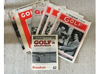 OLD GOLF ILLUSTRATED MAGAZINES FROM 1950/60s