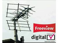 Digital Tv Aerials supplied &fitted freeview freesat