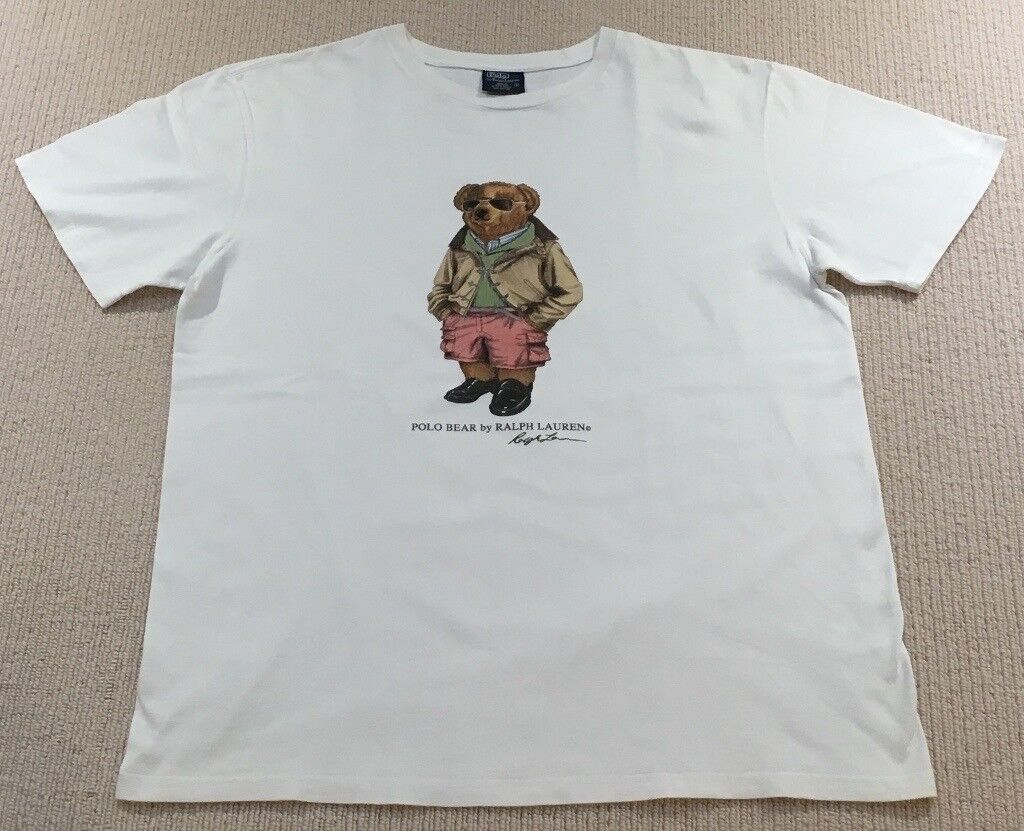 f32750b6a83c Ralph Lauren Polo Bear T Shirt (Not Kanye, Boost, Yeezy, Supreme, Stone  Island, BAPE, Palace, Gosha)