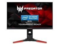Acer Predator (G-Sync) 27 inch Monitor 2560x1440 165hz(OC) 1ms response.