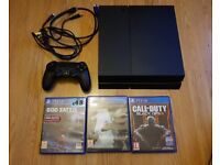 Sony Playstation 4 (PS4) 1TB with 3 Games and 1 Controller