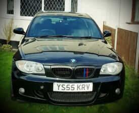 BMW 120I MSPORT 4 DOOR BLACK
