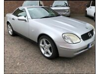Mercedes slk convertible auto in excellent condition long mot services history AMG alloys