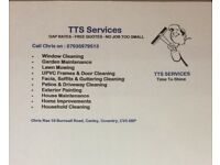 TTS SERVICES cleaning ,gardening,Exterior painting