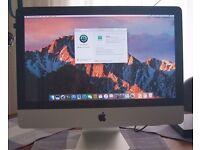 """Apple iMac 21.5"""" - OS X SIERRA ! + 3.06ghz + 10GB RAM ! + 500GB HDD + DVDRW - Great Condition - £350"""
