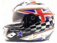 """Motorbike Helmet, size, 63-64cm """"XXL"""". only £30"""