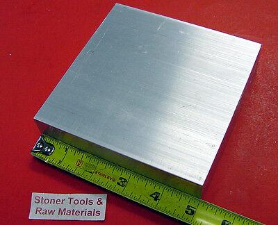 1pc 3-1//4 X 3-3//4 X 7-3//4 new 6061 solid aluminum stock plate flat bar cnc mill