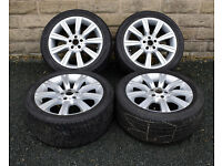 """20"""" alloy wheels tyres 5x120 Range Rover Sport Discovery 3 4"""