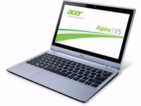 "Acer Aspire V5-122P - AMD A4-1250 (1GHZ), 4GB RAM, 500GB HDD, 11.6"" Touchscreen, Windows 10 Pro x86"