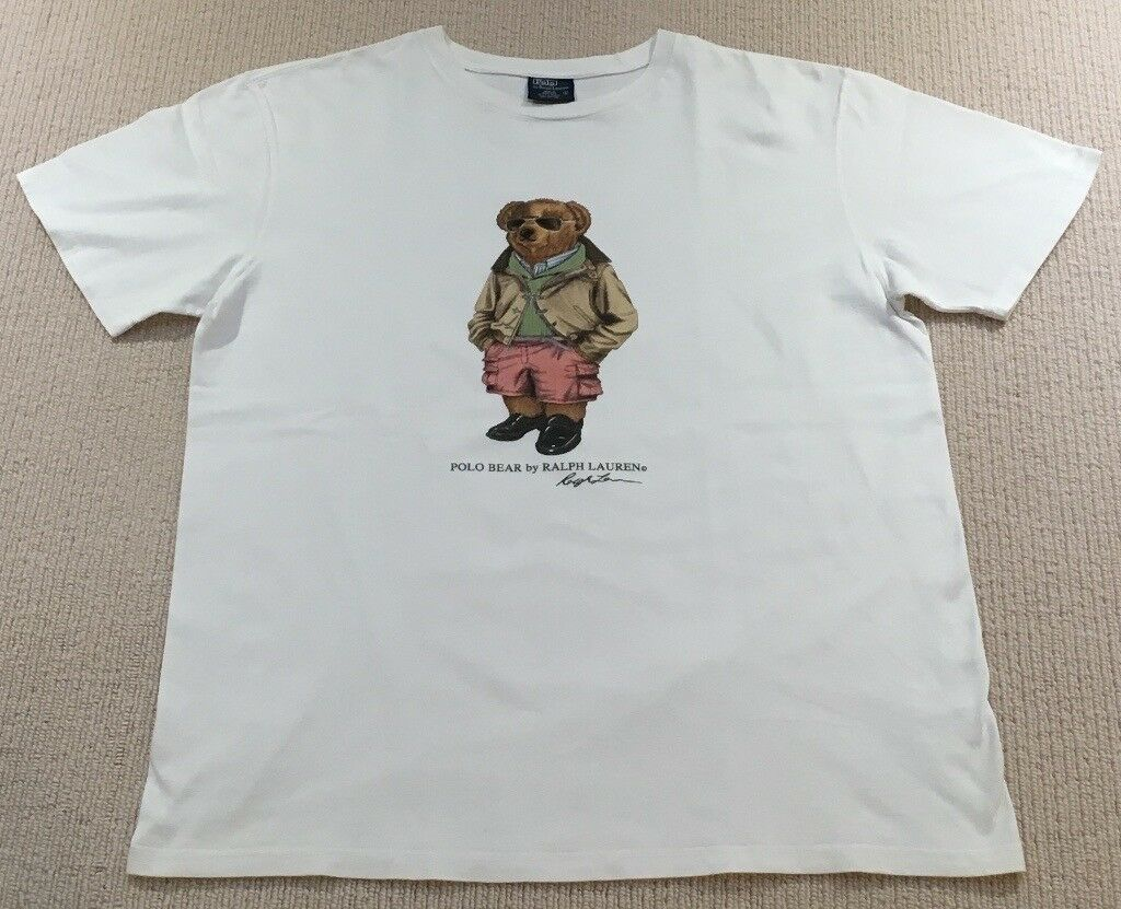 35a2e46f2 Ralph Lauren Polo Bear T Shirt (Not Kanye, Boost, Yeezy, Supreme, Stone  Island, BAPE, Palace, Gosha)