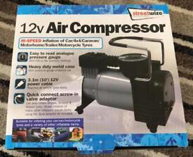 🚗STREETWIZE 12V Air Compressor