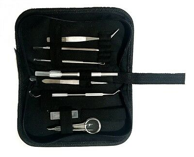 Vinyl Weeding Cricut Silhouette Cameo Tool Kit Precision Tools Craft Black Set