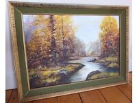 Oil Painting signed by COLIN WADE