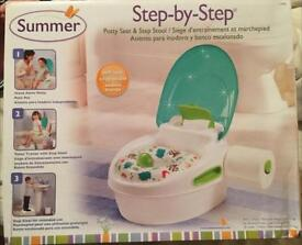Summer potty seat and step stool