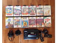 Sega Master System Plus 12 Games