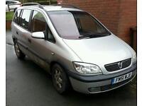Vauxhall Zafira 2.0 diesel 7 seater