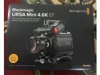 Blackmagic URSA Mini 4.6K Camera - EF Mount (dual RAW and ProRes Professional recorder)
