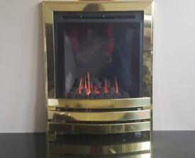 Flavel Windsor HE 2.9 Kw High Efficiency Gas Fire (Brass)
