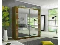 🔵💖🔴LOW PRICE FROM NOW🔵💖🔴FULLY MIRRORED HIGH QUALITY WARDROBES IN DIFFERENT WIDTHS -
