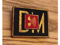 DEECHE MODE 1987 Music For The Masses Tour Badge