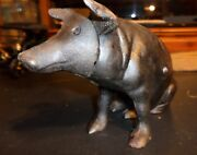 Cast Iron Piggy Bank