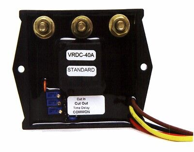Adjustable 0-30 Dc Volts 40a Relay Switch Adj. Time Delay Battery Or Generator