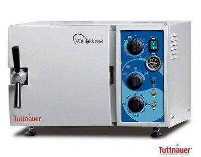 New Tuttnauer Valueklave 1730 Autoclave Sterilizer Chamber Size 7 X 13