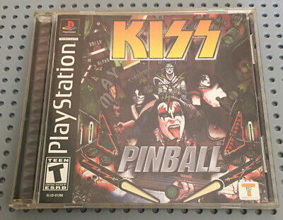 PS1 Playstation Kiss Pinball Complete