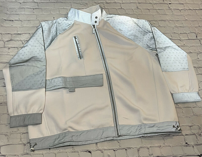 Disney Parks 2021 Epcot Spaceship Earth Light Collection Jacket Coat Zip XL NWT